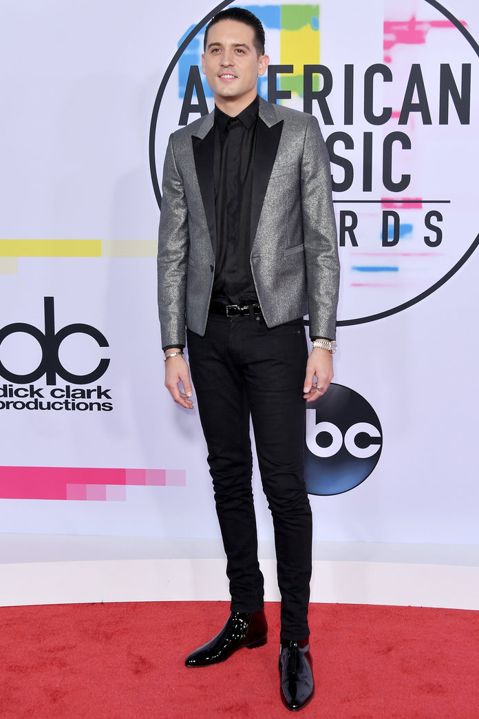 LOS ANGELES, CA - NOVEMBER 19:  G-Eazy attends the 2017 American Music Awards at Microsoft Theater on November 19, 2017 in Los Angeles, California.  (Photo by Neilson Barnard/Getty Images)