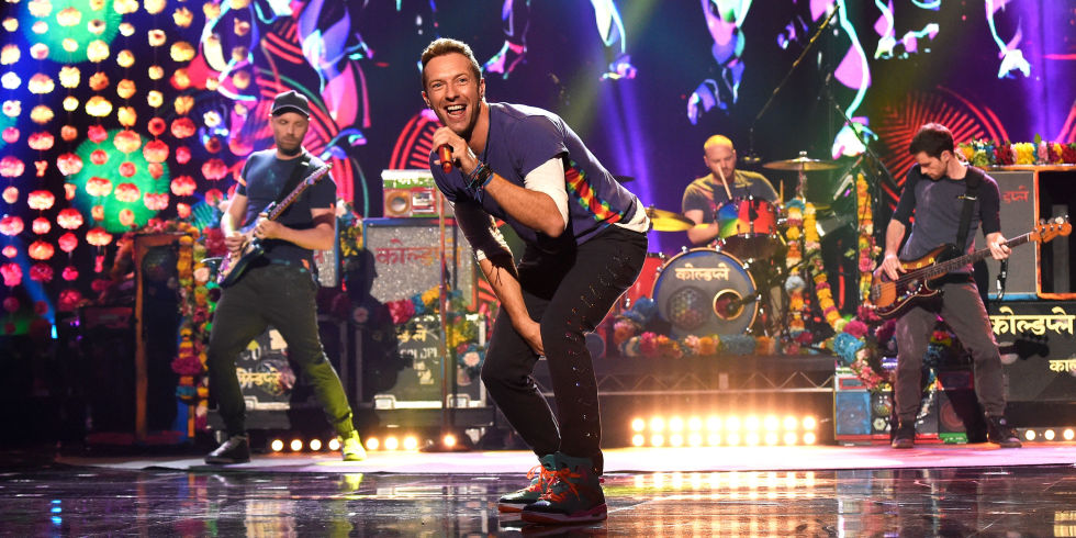 Coldplay Spectacle Mi Temps Super Bowl 2016