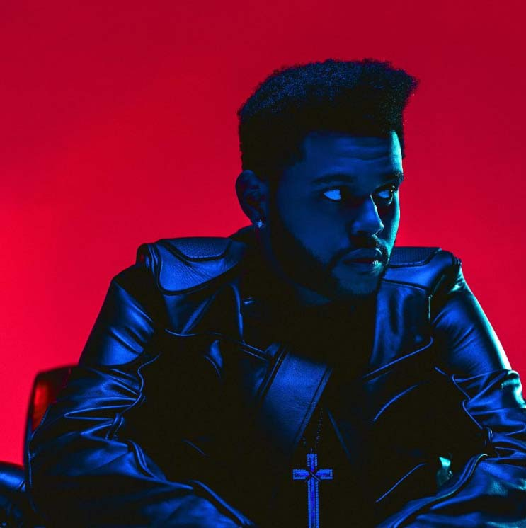 the weeknd cheveux 2016