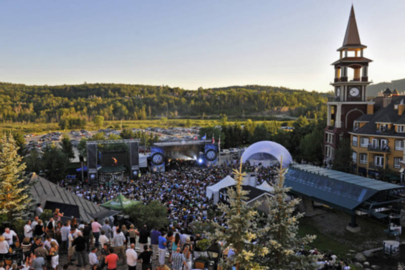 festival blues de tremblant