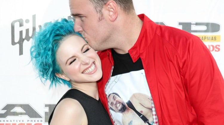 hayley williams chad gilbert separation
