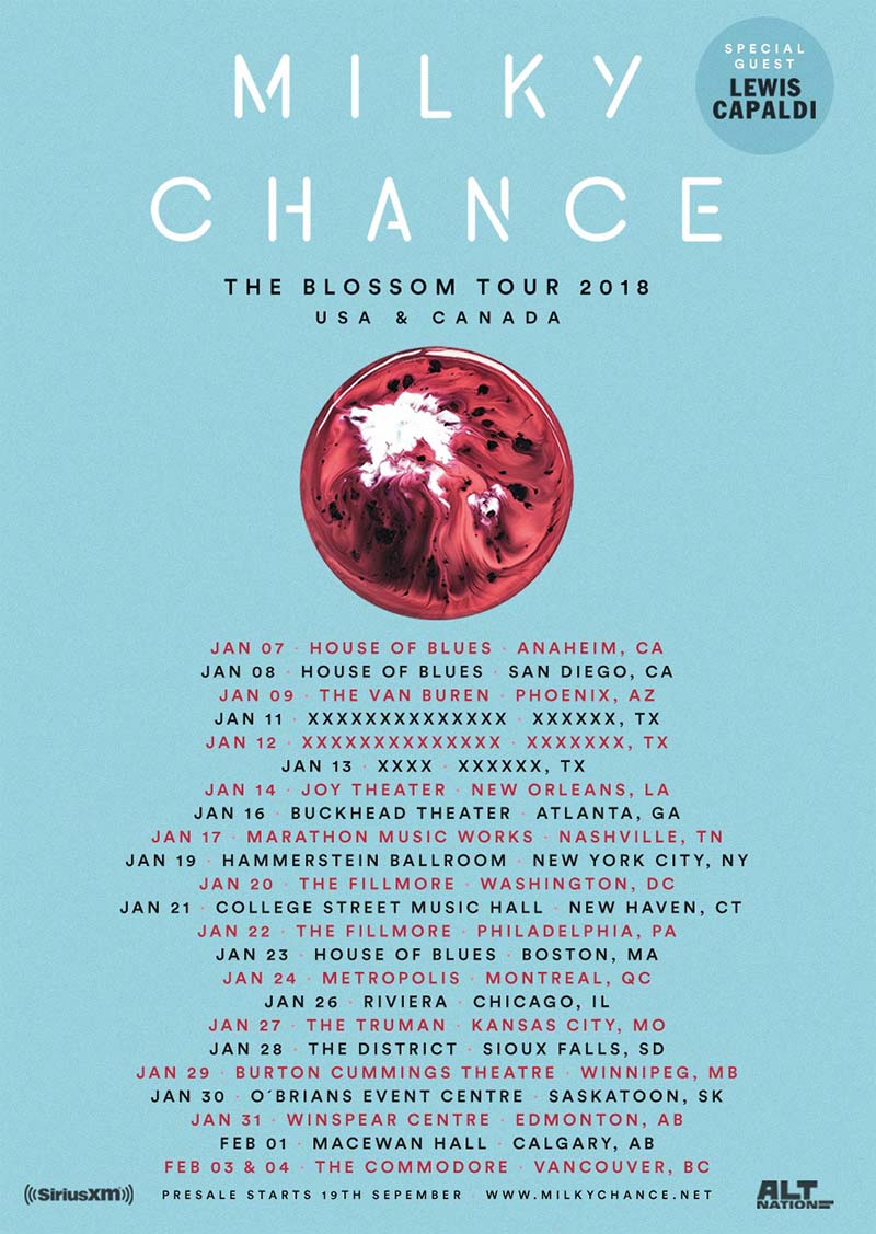 milky chance montreal 2018