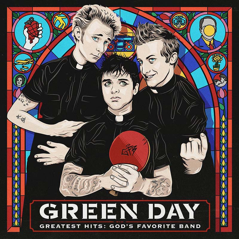 green day Greatest Hits- God's Favorite Band