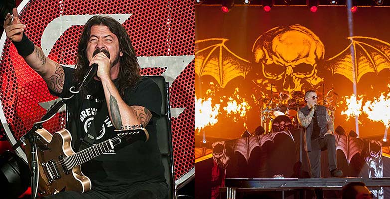 foo fighters avenged sevenfold