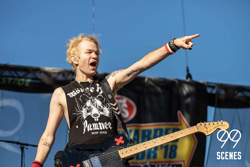sum 41 vans warped tour