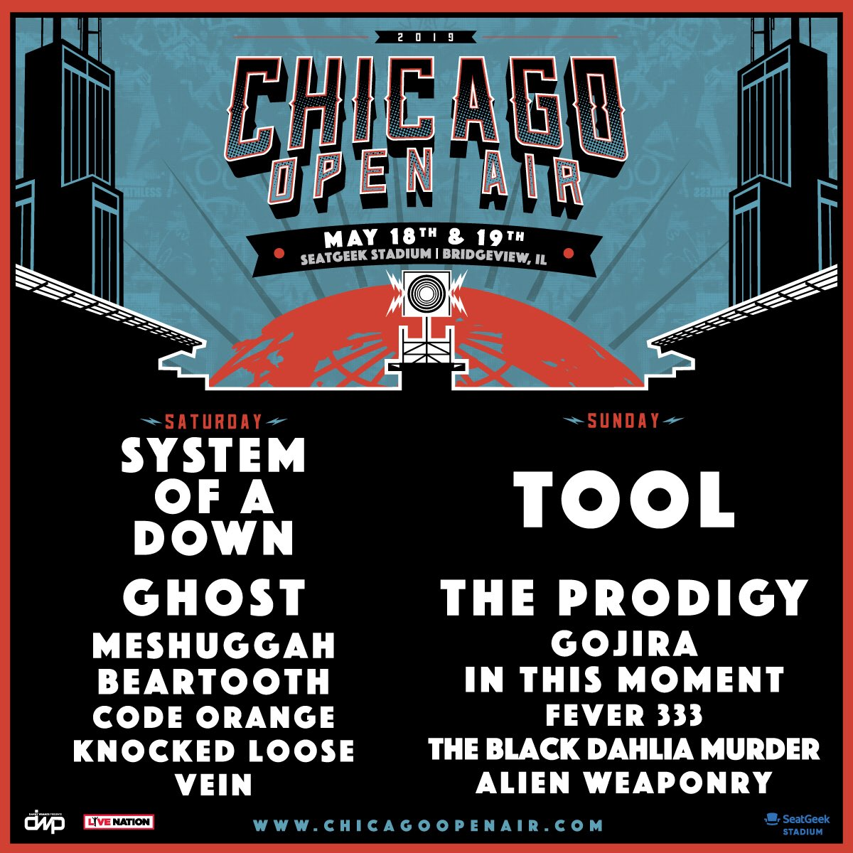 chicago open air 2018