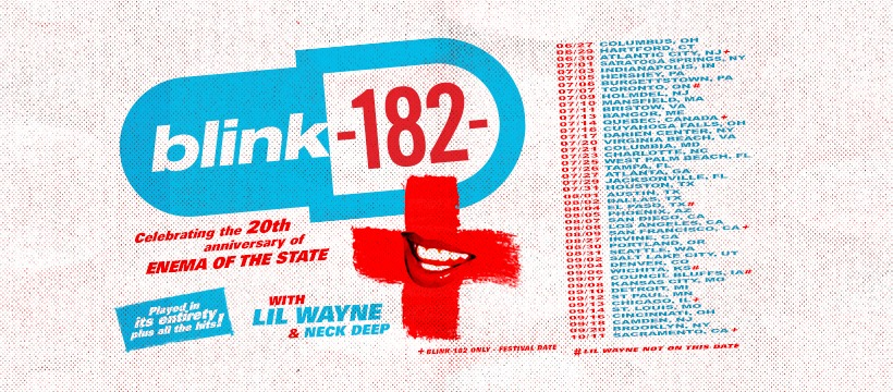 blink 182 enema feq 2019