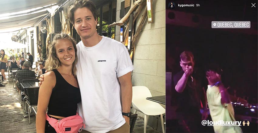 kygo spotted quebec